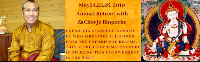 Emaho Foundation - Annual Retreat with ZaChoeje Rinpoche May 24, 25